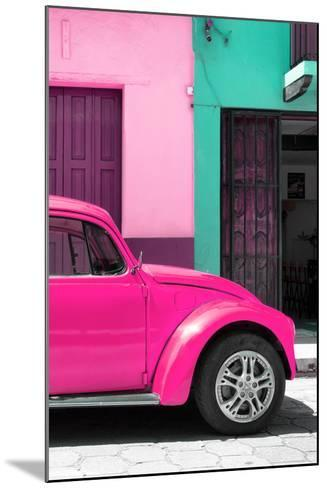?Viva Mexico! Collection - The Deep Pink Beetle-Philippe Hugonnard-Mounted Photographic Print