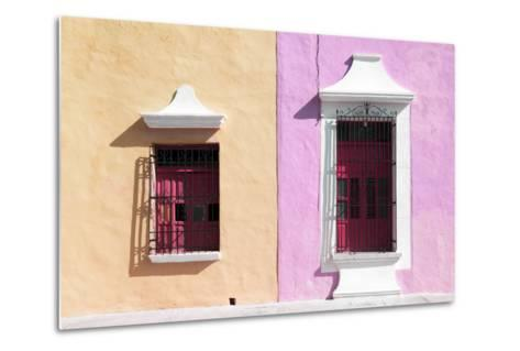 ¡Viva Mexico! Collection - Colors Houses in Campeche IV-Philippe Hugonnard-Metal Print
