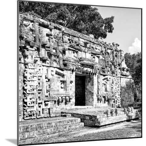 ¡Viva Mexico! Square Collection - Hochob Mayan Pyramids of Campeche V-Philippe Hugonnard-Mounted Photographic Print
