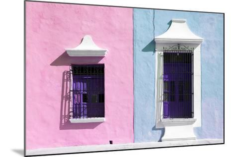 ¡Viva Mexico! Collection - Colors Houses in Campeche V-Philippe Hugonnard-Mounted Photographic Print