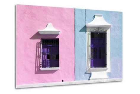 ¡Viva Mexico! Collection - Colors Houses in Campeche V-Philippe Hugonnard-Metal Print