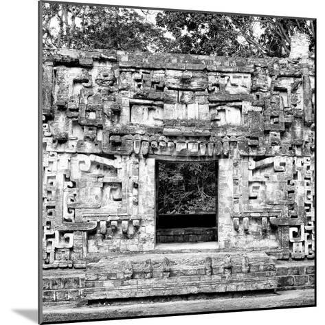 ¡Viva Mexico! Square Collection - Hochob Mayan Pyramids of Campeche III-Philippe Hugonnard-Mounted Photographic Print