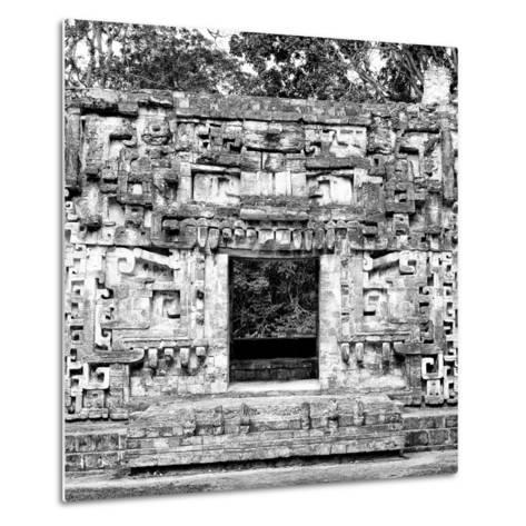 ¡Viva Mexico! Square Collection - Hochob Mayan Pyramids of Campeche III-Philippe Hugonnard-Metal Print
