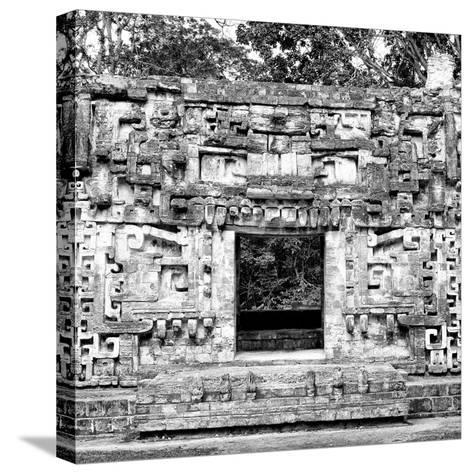 ¡Viva Mexico! Square Collection - Hochob Mayan Pyramids of Campeche III-Philippe Hugonnard-Stretched Canvas Print
