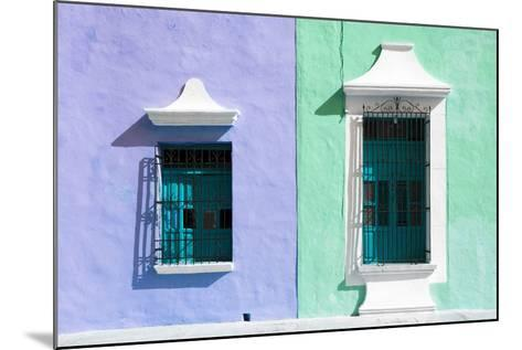 ¡Viva Mexico! Collection - Colors Houses in Campeche II-Philippe Hugonnard-Mounted Photographic Print