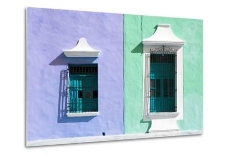 ¡Viva Mexico! Collection - Colors Houses in Campeche II-Philippe Hugonnard-Metal Print