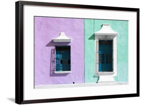?Viva Mexico! Collection - Colors Houses in Campeche VI-Philippe Hugonnard-Framed Art Print