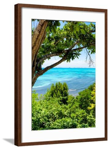 ¡Viva Mexico! Collection - Caribbean Sea III - Cancun-Philippe Hugonnard-Framed Art Print