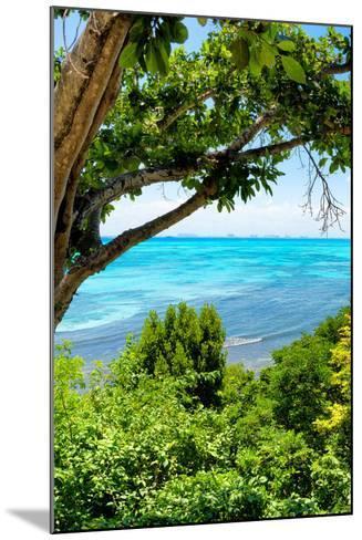 ¡Viva Mexico! Collection - Caribbean Sea III - Cancun-Philippe Hugonnard-Mounted Photographic Print