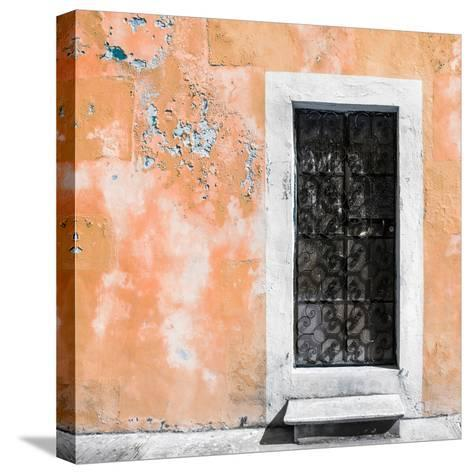 ¡Viva Mexico! Square Collection - Coral Wall of Silence-Philippe Hugonnard-Stretched Canvas Print