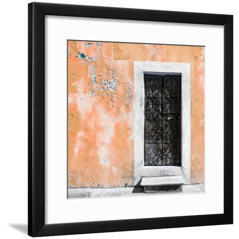 ¡Viva Mexico! Square Collection - Coral Wall of Silence-Philippe Hugonnard-Framed Art Print