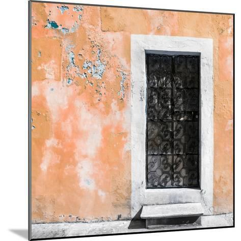 ¡Viva Mexico! Square Collection - Coral Wall of Silence-Philippe Hugonnard-Mounted Photographic Print