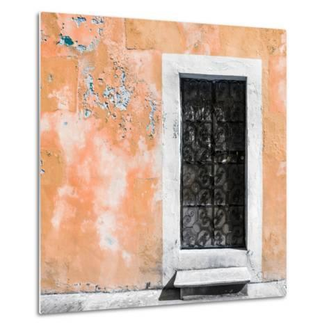 ¡Viva Mexico! Square Collection - Coral Wall of Silence-Philippe Hugonnard-Metal Print