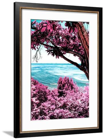?Viva Mexico! Collection - Caribbean Sea IV - Cancun-Philippe Hugonnard-Framed Art Print