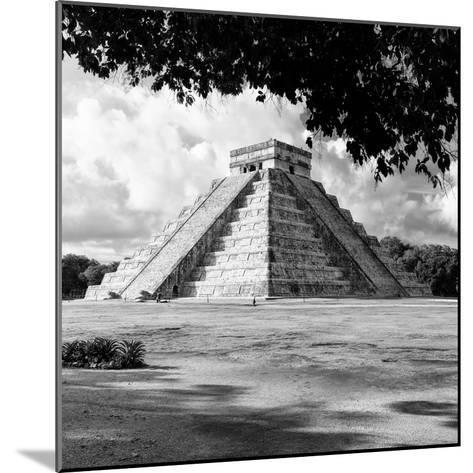 ¡Viva Mexico! Square Collection - El Castillo Pyramid - Chichen Itza I-Philippe Hugonnard-Mounted Photographic Print