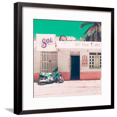 ¡Viva Mexico! Square Collection - Mini Supermarket Vintage V-Philippe Hugonnard-Framed Art Print
