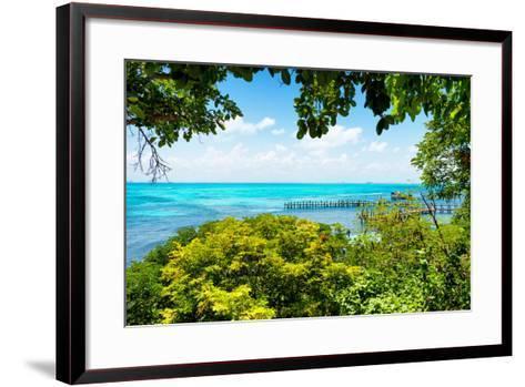 ?Viva Mexico! Collection - Caribbean Sea V - Cancun-Philippe Hugonnard-Framed Art Print
