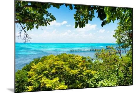 ?Viva Mexico! Collection - Caribbean Sea V - Cancun-Philippe Hugonnard-Mounted Photographic Print