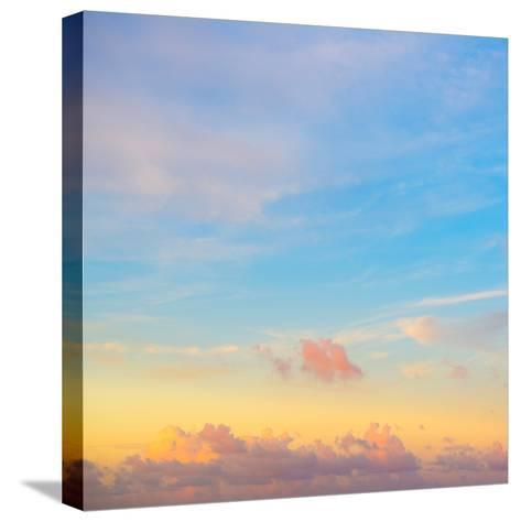 ¡Viva Mexico! Square Collection - Sky at Sunset-Philippe Hugonnard-Stretched Canvas Print