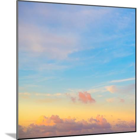 ¡Viva Mexico! Square Collection - Sky at Sunset-Philippe Hugonnard-Mounted Photographic Print