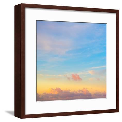 ¡Viva Mexico! Square Collection - Sky at Sunset-Philippe Hugonnard-Framed Art Print