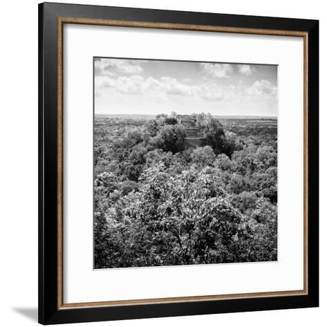 ¡Viva Mexico! Square Collection - Calakmul in the Mexican Jungle-Philippe Hugonnard-Framed Art Print