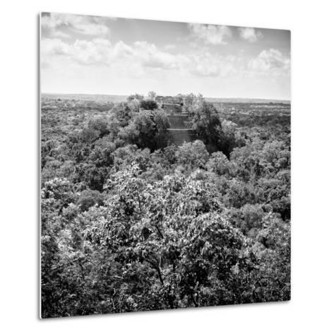 ¡Viva Mexico! Square Collection - Calakmul in the Mexican Jungle-Philippe Hugonnard-Metal Print