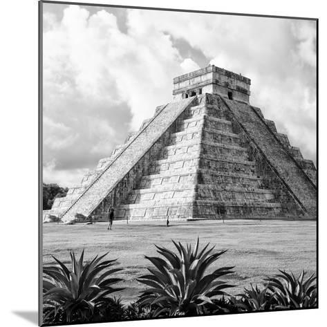 ¡Viva Mexico! Square Collection - El Castillo Pyramid - Chichen Itza VII-Philippe Hugonnard-Mounted Photographic Print