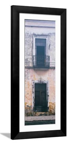 ¡Viva Mexico! Panoramic Collection - Old Mexican Facade IV-Philippe Hugonnard-Framed Art Print
