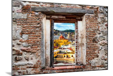 ?Viva Mexico! Window View - Church Domes in Guanajuato-Philippe Hugonnard-Mounted Photographic Print