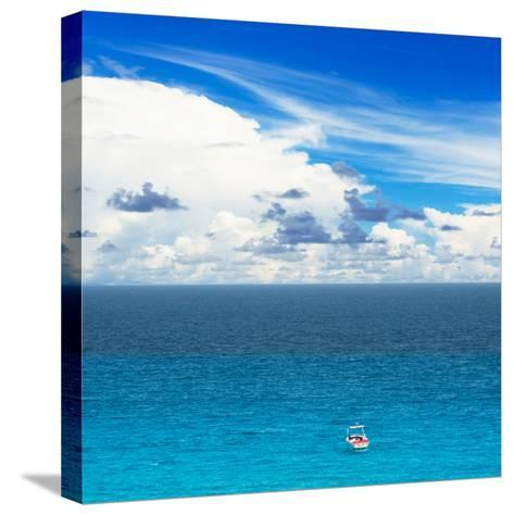 ¡Viva Mexico! Square Collection - Alone in the World-Philippe Hugonnard-Stretched Canvas Print