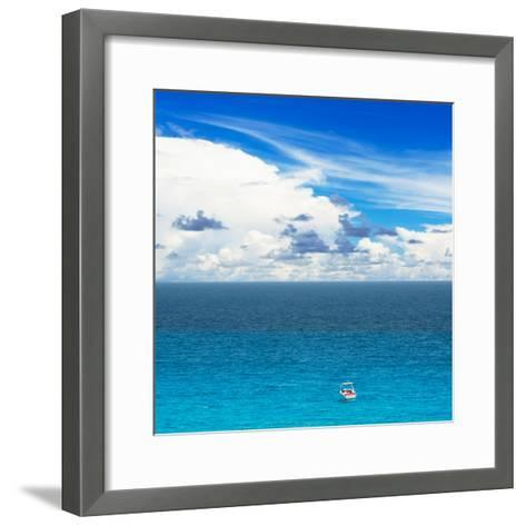 ¡Viva Mexico! Square Collection - Alone in the World-Philippe Hugonnard-Framed Art Print