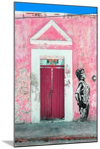 ¡Viva Mexico! Collection - Main entrance Door Closed IX-Philippe Hugonnard-Mounted Photographic Print