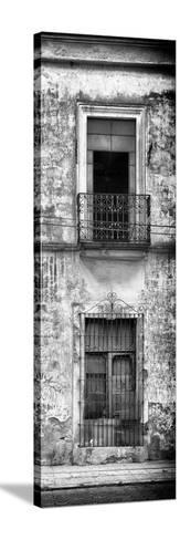 ¡Viva Mexico! Panoramic Collection - Old Mexican Facade VI-Philippe Hugonnard-Stretched Canvas Print