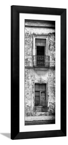 ¡Viva Mexico! Panoramic Collection - Old Mexican Facade VI-Philippe Hugonnard-Framed Art Print