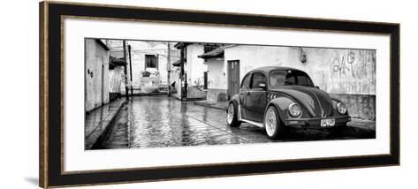 ?Viva Mexico! Panoramic Collection - VW Beetle Car in San Cristobal de Las Casas-Philippe Hugonnard-Framed Art Print