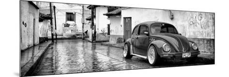 ?Viva Mexico! Panoramic Collection - VW Beetle Car in San Cristobal de Las Casas-Philippe Hugonnard-Mounted Photographic Print