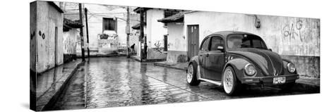 ?Viva Mexico! Panoramic Collection - VW Beetle Car in San Cristobal de Las Casas-Philippe Hugonnard-Stretched Canvas Print