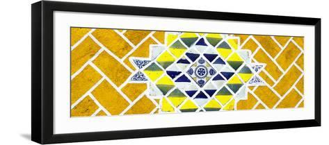 ¡Viva Mexico! Panoramic Collection - Yellow Mosaics-Philippe Hugonnard-Framed Art Print