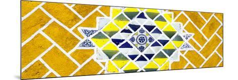¡Viva Mexico! Panoramic Collection - Yellow Mosaics-Philippe Hugonnard-Mounted Photographic Print