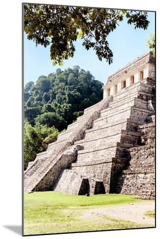 ¡Viva Mexico! Collection - Beautiful Temple of the Inscription - Palenque IV-Philippe Hugonnard-Mounted Photographic Print