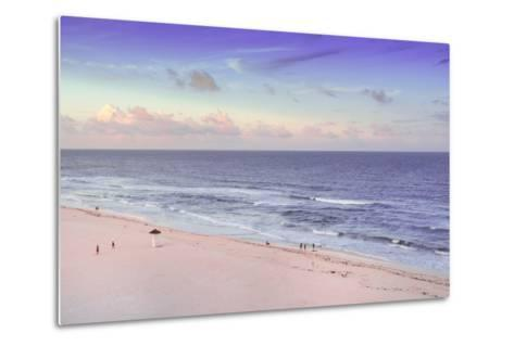 ?Viva Mexico! Collection - Ocean View at Sunset III - Cancun-Philippe Hugonnard-Metal Print