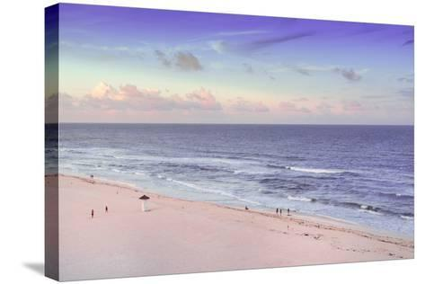 ?Viva Mexico! Collection - Ocean View at Sunset III - Cancun-Philippe Hugonnard-Stretched Canvas Print