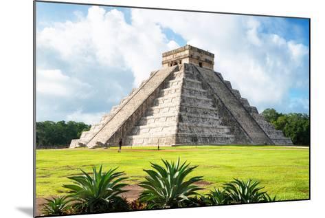 ¡Viva Mexico! Collection - El Castillo Pyramid in Chichen Itza X-Philippe Hugonnard-Mounted Photographic Print