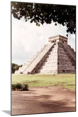 ?Viva Mexico! Collection - El Castillo Pyramid in Chichen Itza IX-Philippe Hugonnard-Mounted Photographic Print