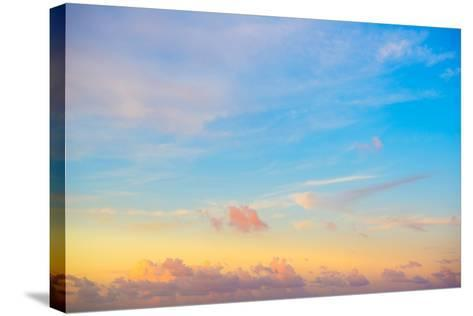 ?Viva Mexico! Collection - Sky at Sunset-Philippe Hugonnard-Stretched Canvas Print
