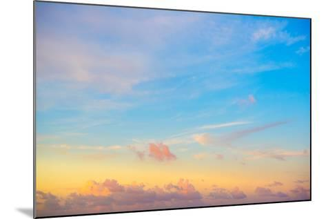 ?Viva Mexico! Collection - Sky at Sunset-Philippe Hugonnard-Mounted Photographic Print