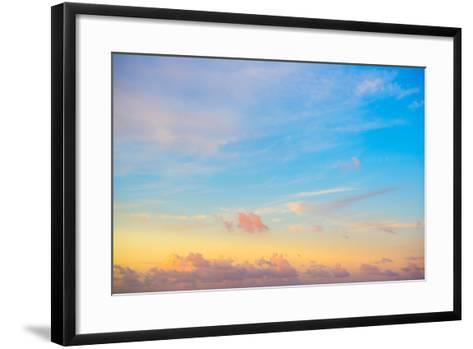 ?Viva Mexico! Collection - Sky at Sunset-Philippe Hugonnard-Framed Art Print