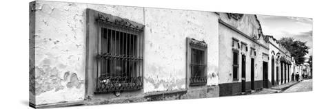 ¡Viva Mexico! Panoramic Collection - Street Scene San Cristobal de Las Casas I-Philippe Hugonnard-Stretched Canvas Print
