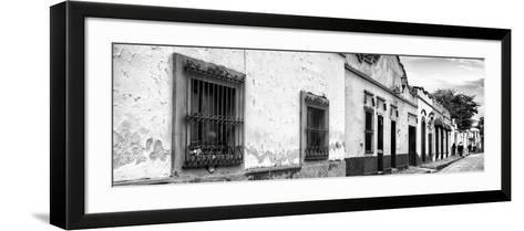 ¡Viva Mexico! Panoramic Collection - Street Scene San Cristobal de Las Casas I-Philippe Hugonnard-Framed Art Print